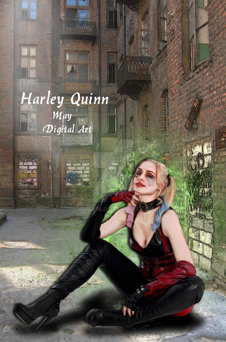 Harley Quinn by nimfa36