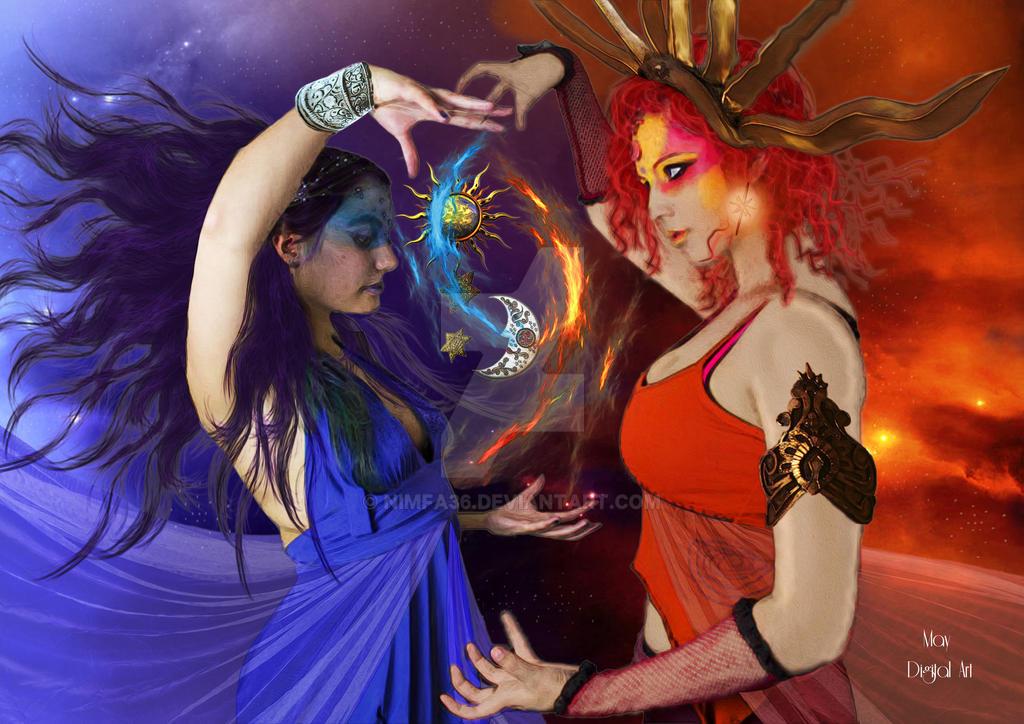 Hermana luna y hermana sol by nimfa36