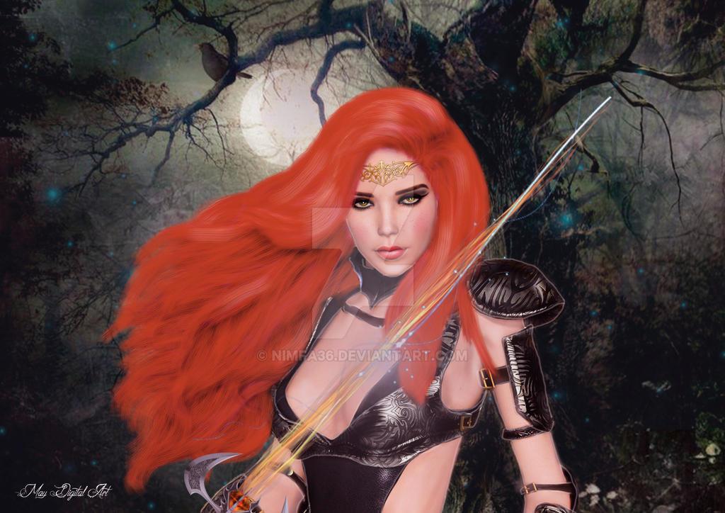 La dama de la espada by nimfa36