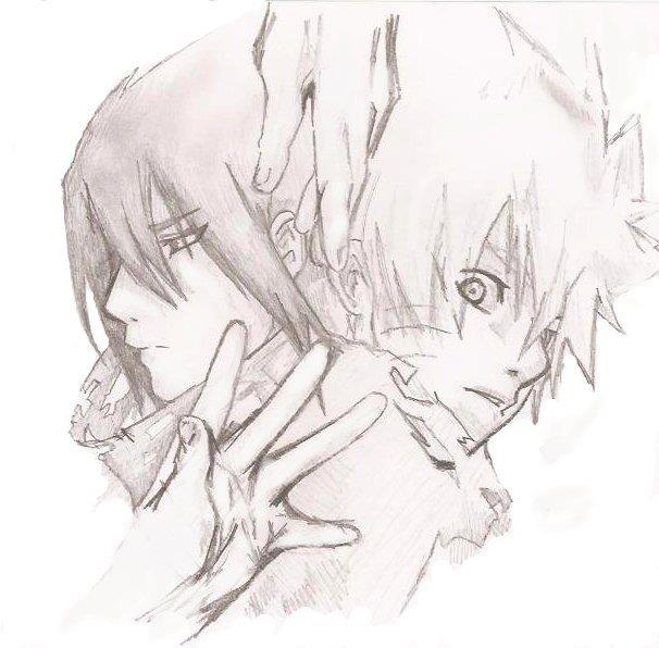 Naruto and Sasuke friends forever by ArtnillNaruto And Sasuke Friends Forever