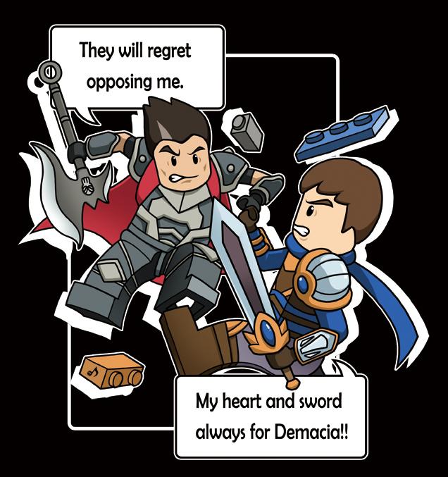 LEGO Garen vs darius by toonnight on DeviantArt