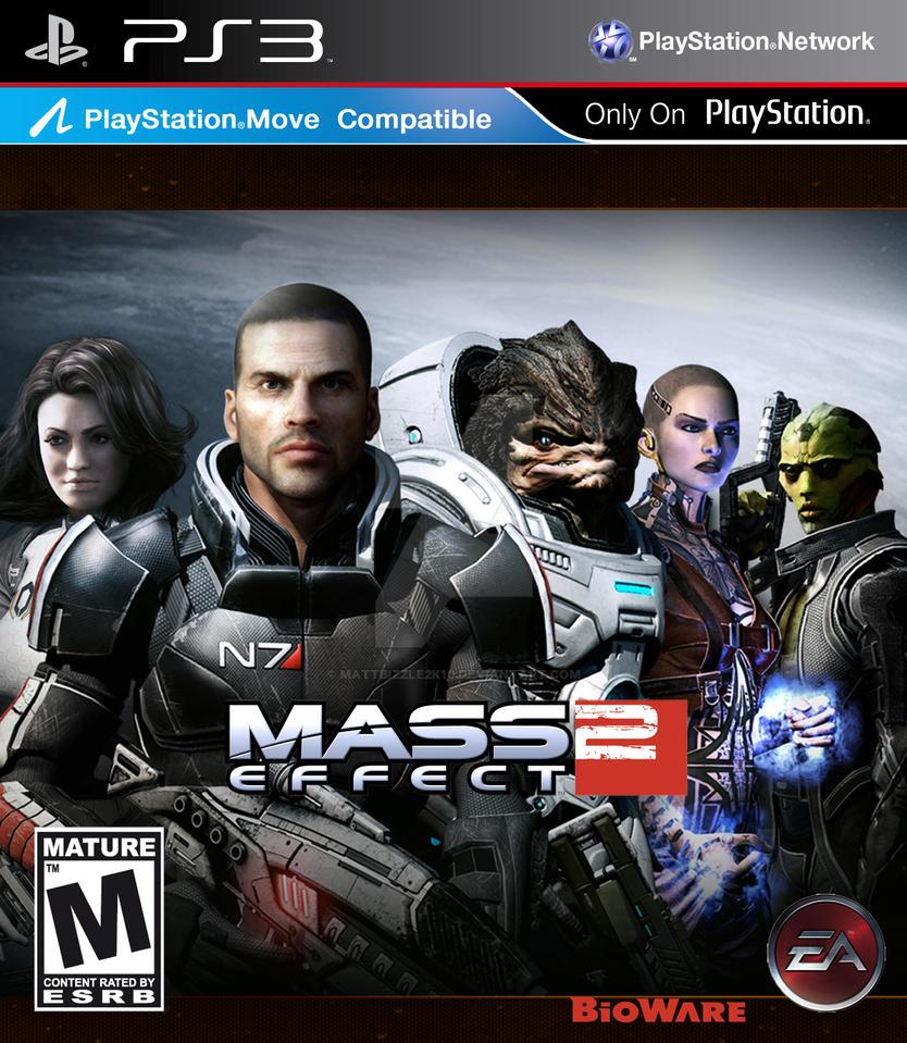 Mass Effect 2 by MattBizzle2k10