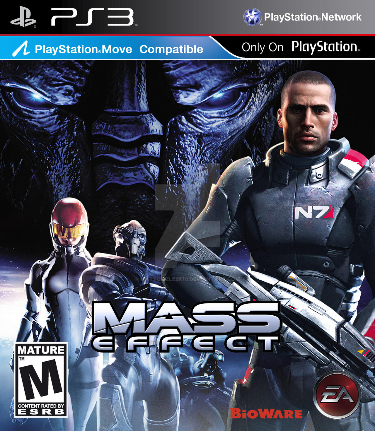 Mass Effect by MattBizzle2k10