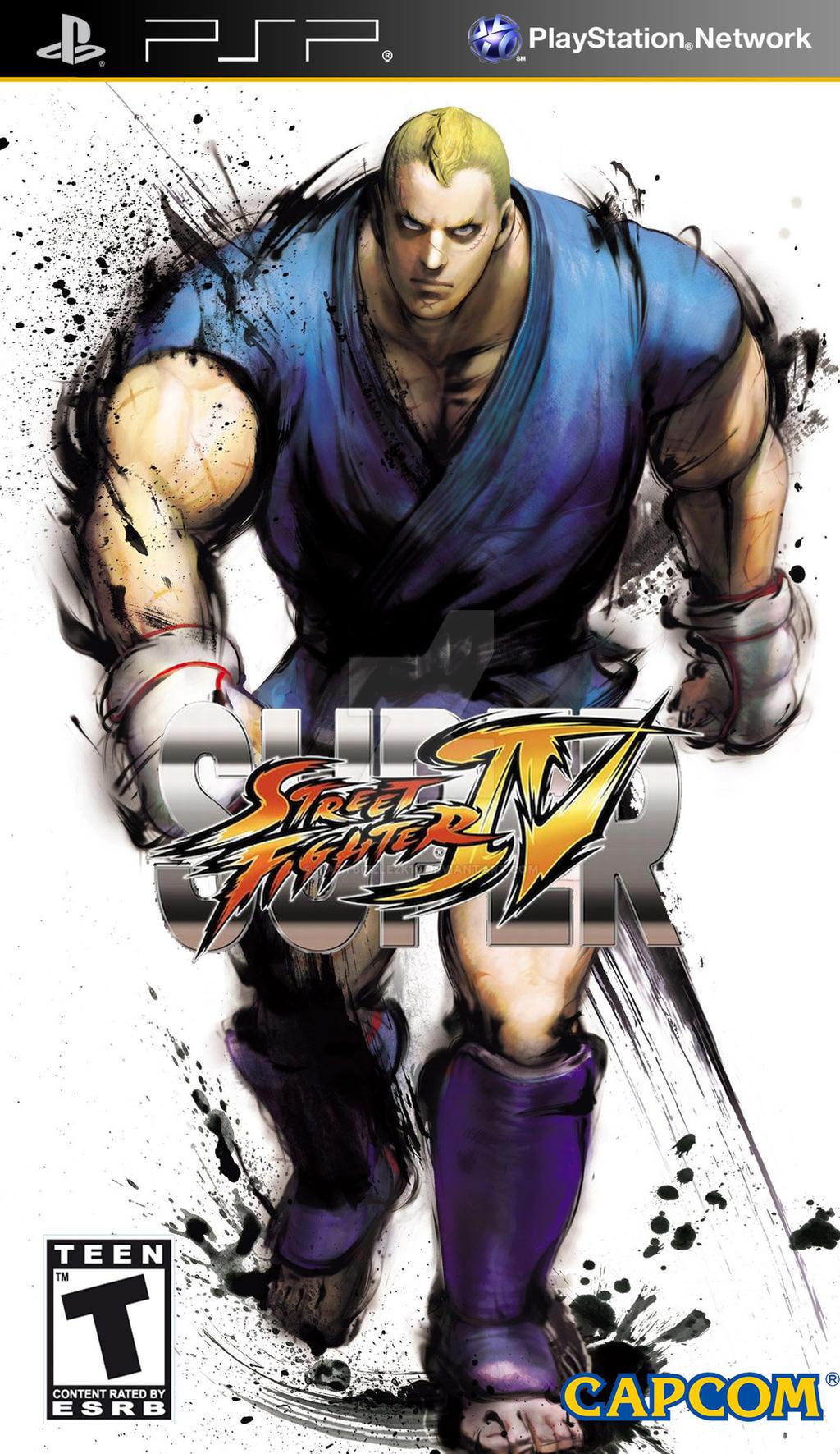 street fighter 4 psp iso
