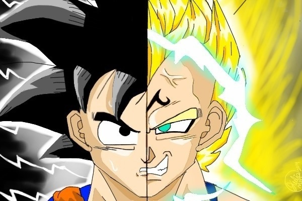 Dragon Ball Z Goku Majin Vegeta Wallpaper By FlowerLovesYou
