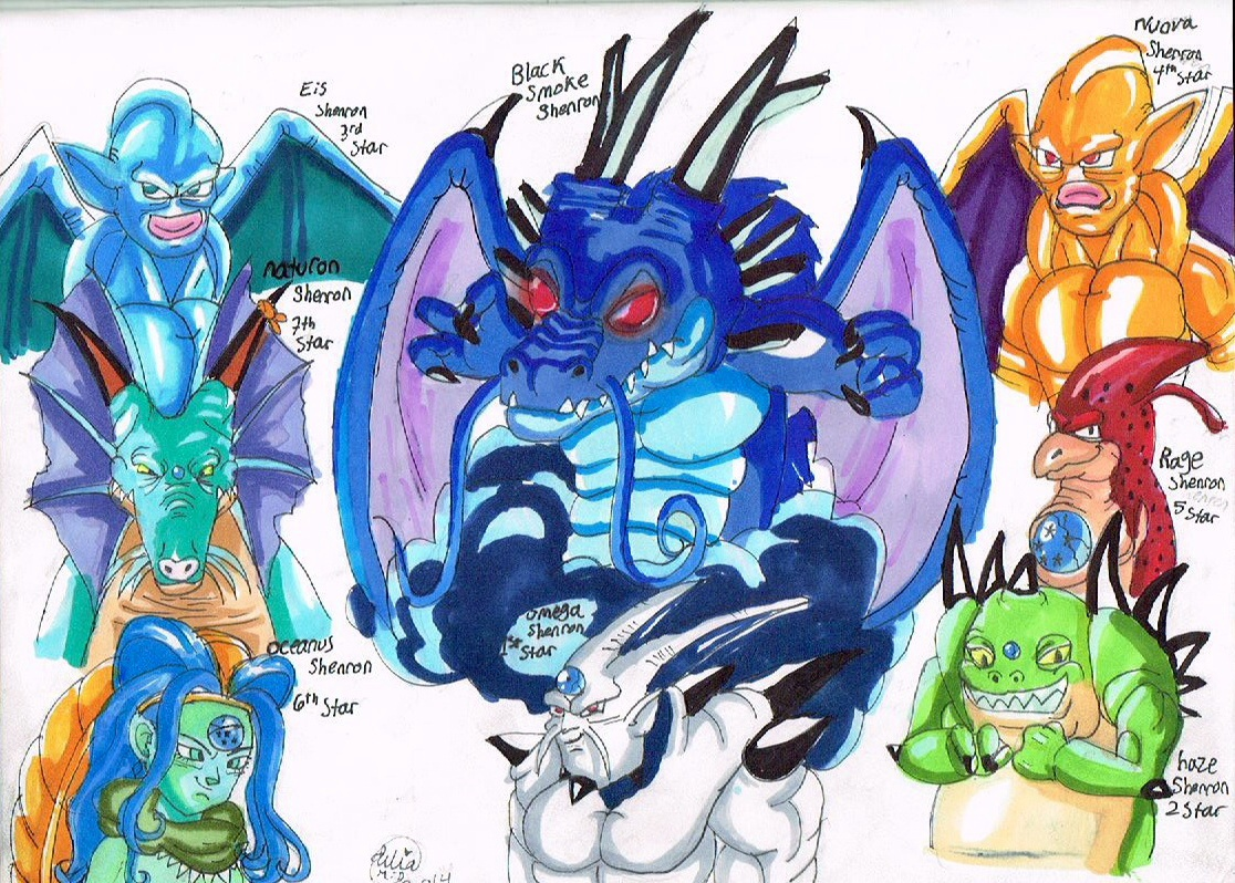 7 dragons dragon ball gt