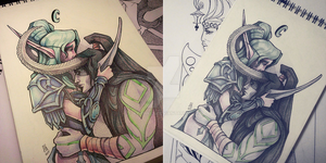 Tyrande and Illidan