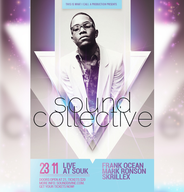 Sound System - Flyer Template by Tokayoot