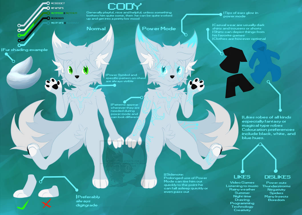 [Personal | Reference] Technofox Cody