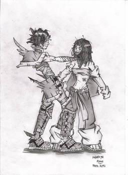 After Battle Hug