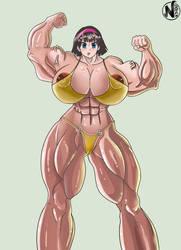 (CM) Videl Musclegirl by NadoArts