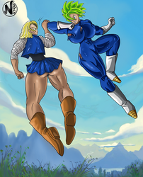 (CM) Fighterz dbs by NadoArts
