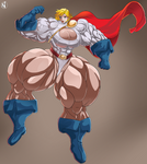 Commission-Power Girl by NadoArts