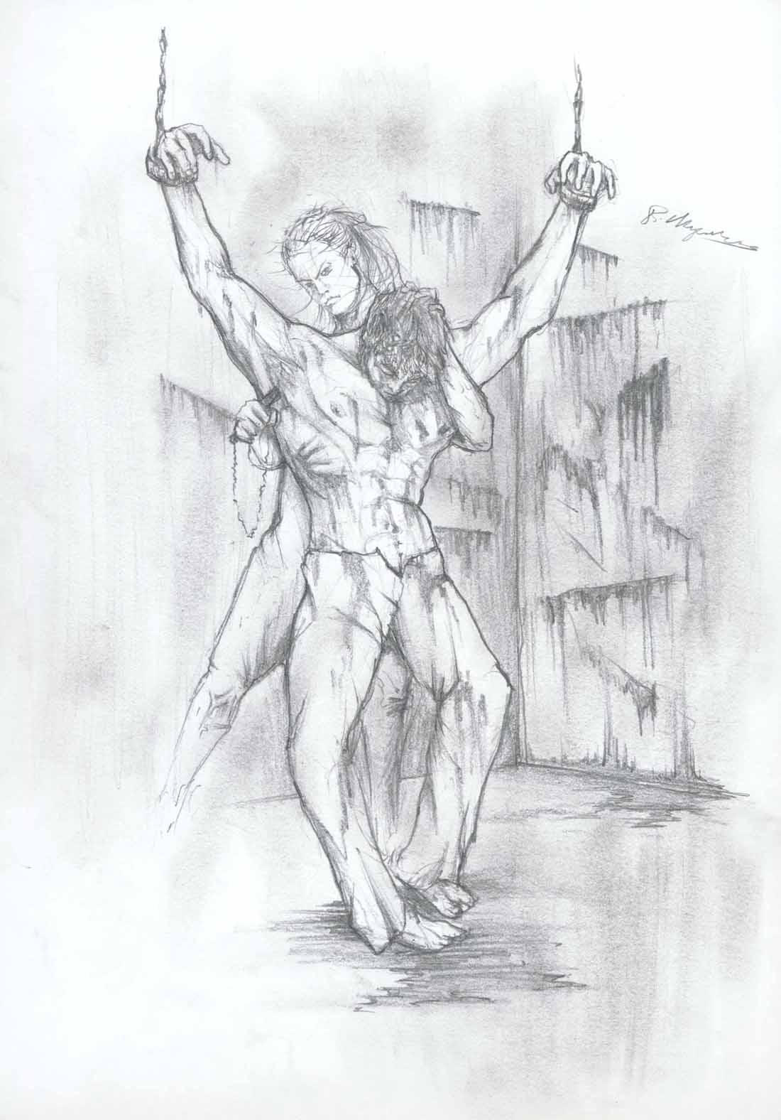 Nude girl torture drawings sex picture