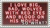 Big, bad wolves - stamp by Kocurzyca