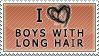 Boys with long hair - stamp by Kocurzyca