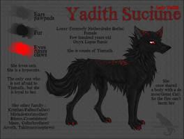 Suciune Character Sheet by Kocurzyca
