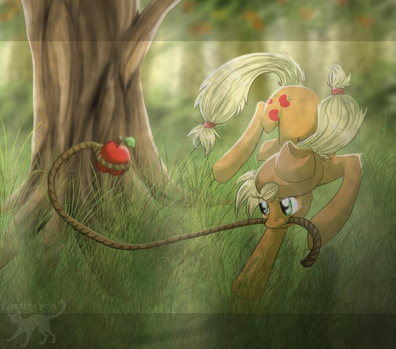 Red as an apple by Kocurzyca