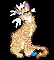 Warrior Cats characters - Honeyfern by Kocurzyca