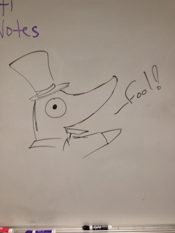 Whiteboard Excalibur by CrypticCharmander