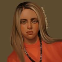 (Study/Realistic) Billie Eilish