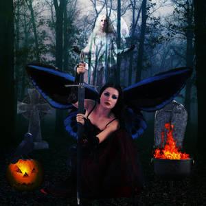 Samhain Fairy by SilverWynd