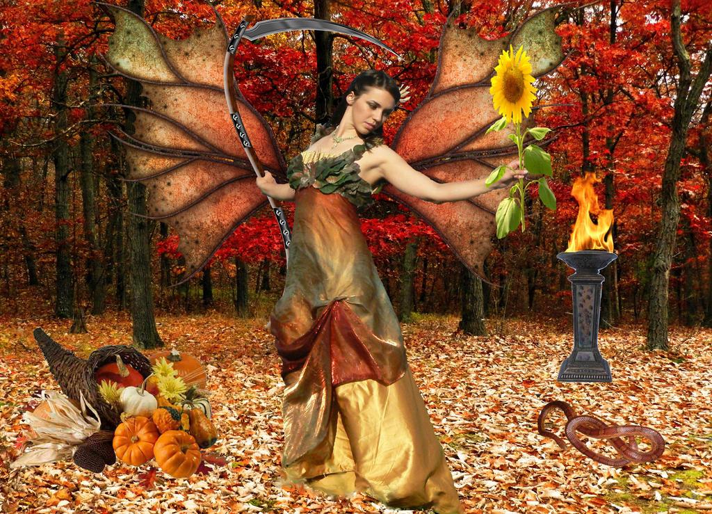 Harvest Fairy  by SilverWynd