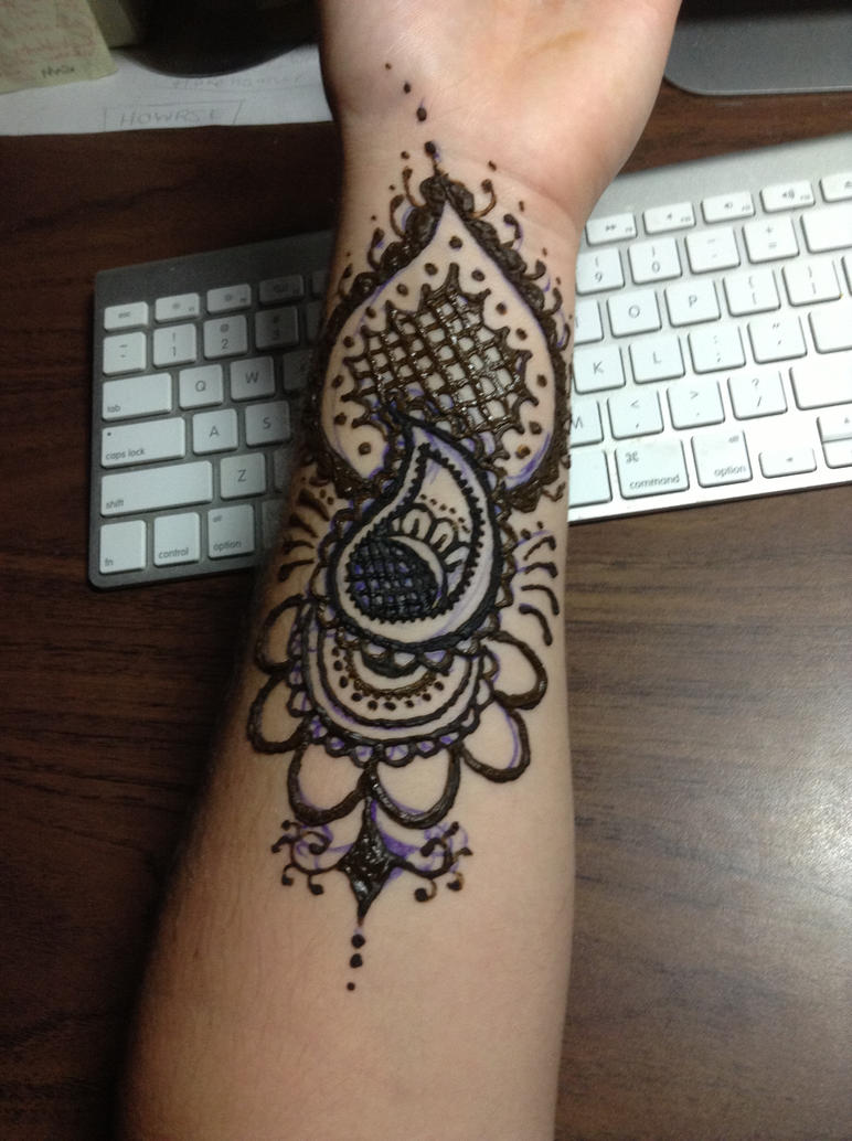 Body Shop Henna Tattoo: Henna Arm Tattoo By BlackWaterPanther On DeviantArt