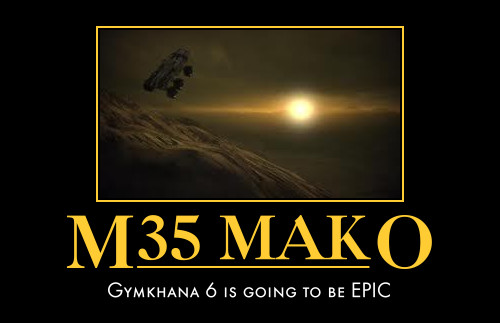Mass Effect: Gymkhana 6 by A-Markov