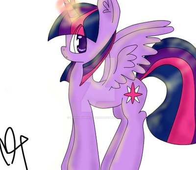 Princess Twilight Sparkle. by LightPower12243015