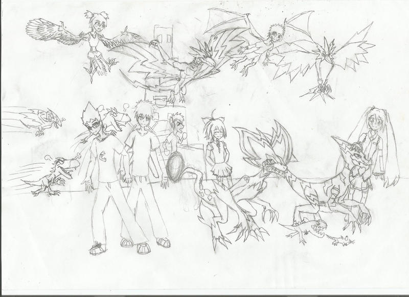 Me in Monster Legends (WIP) by Renji-12 on DeviantArt H20 Delirious