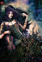 The Violinst by RadiusZero
