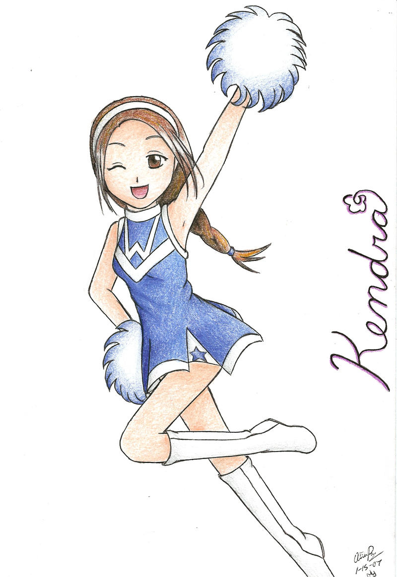 cheerleader for kendra by zakuri on deviantart