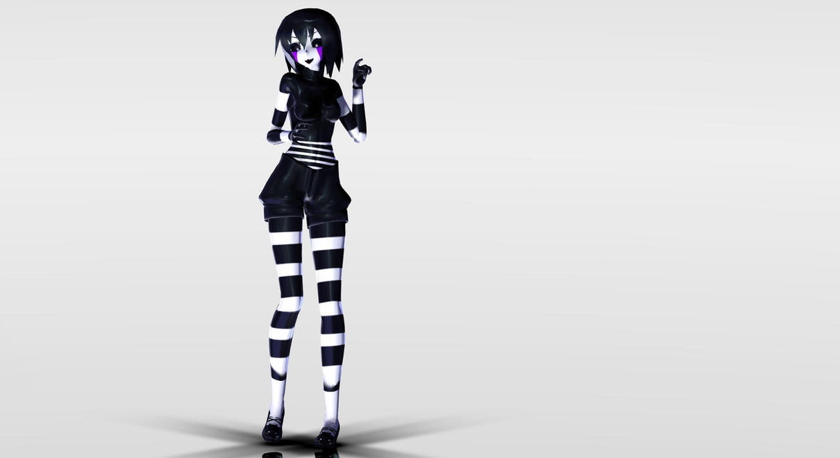 Mmd fnaf model puppet by valkirykiller on deviantart