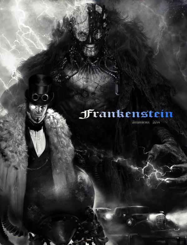 Frankenstein 1 by aristidenix