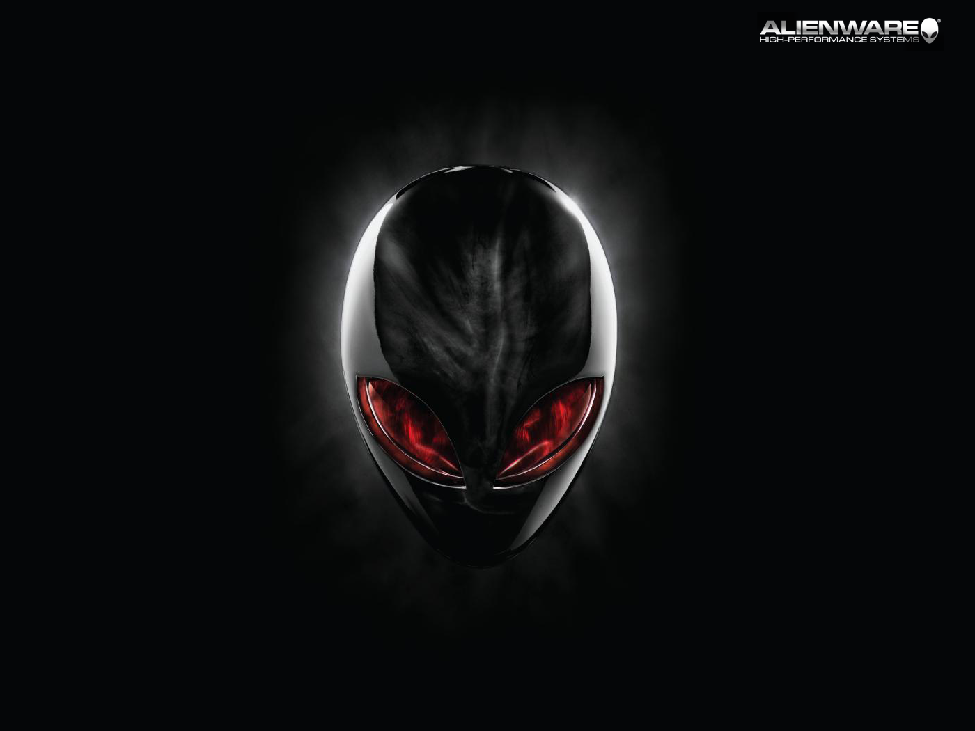 Red eye Alienware background by CornerShot8