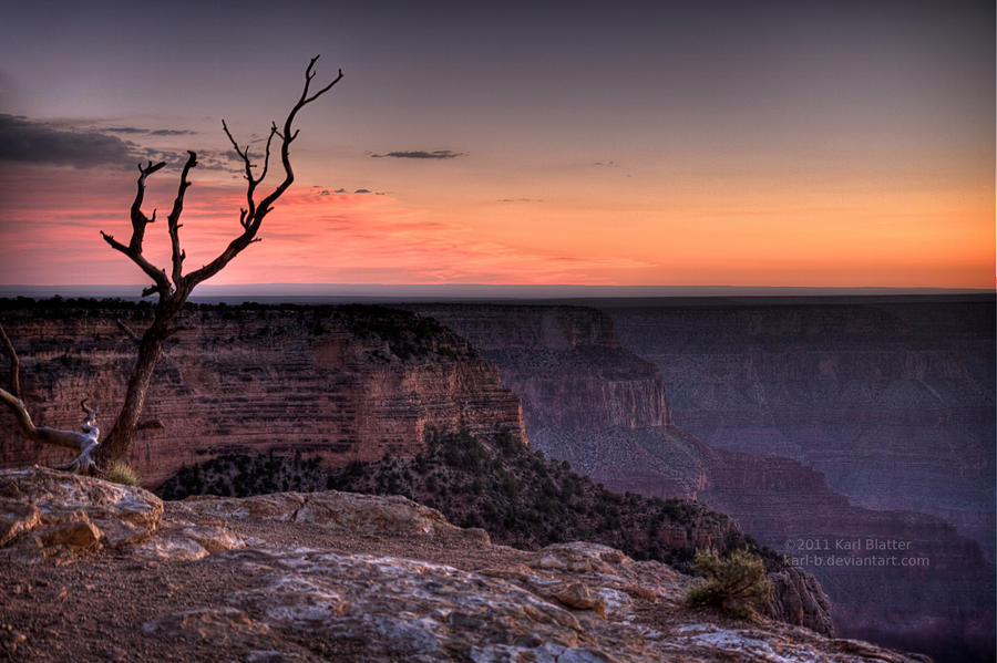 Grand Canyon - Sunset by Karl-B