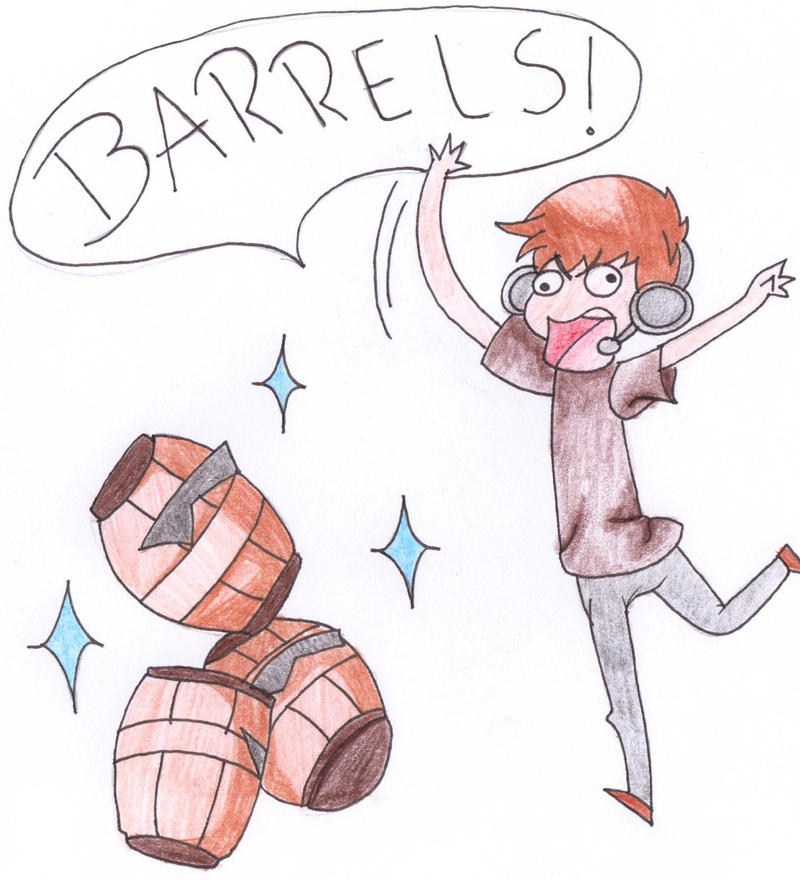 Barrels! by dianamerline