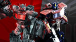 Optimus Prime X Nemesis Prime -  Transformers by wademcmaster