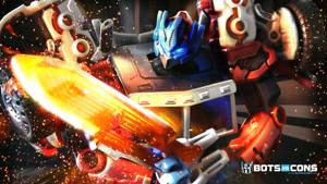 Laser Optimus Prime Transformers G1 Wallpaper