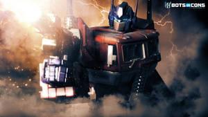 Optimus Prime Fire Transformers G1 Wallpaper