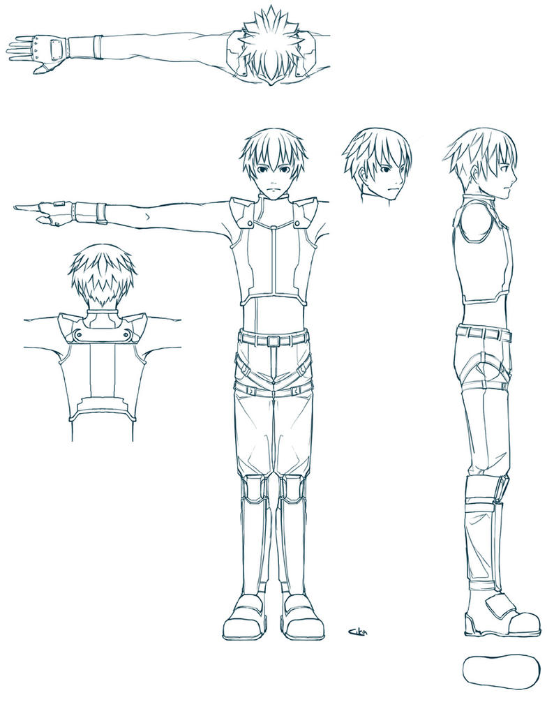 Anime Characters Reference : D character reference sheet by cika on deviantart