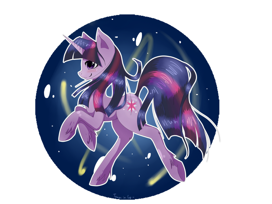 Twilight Sparkle by Tomat-in-Cup