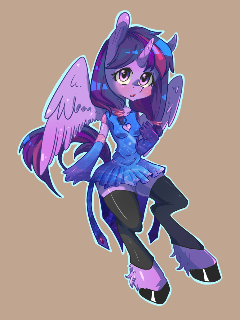 Anthro: Twilight Sparkle by Tomat-in-Cup on DeviantArt