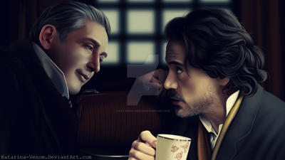 Sherlock - Conversation by Katarina-Venom