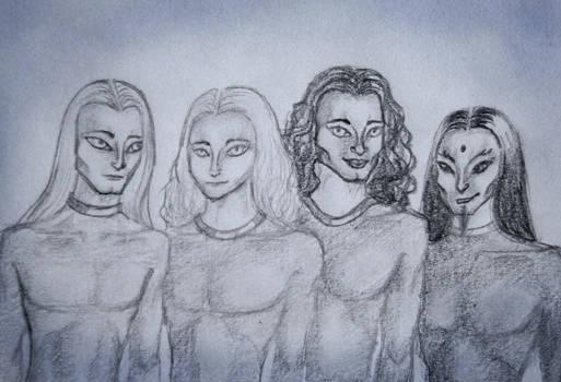 humanoid alien brothers