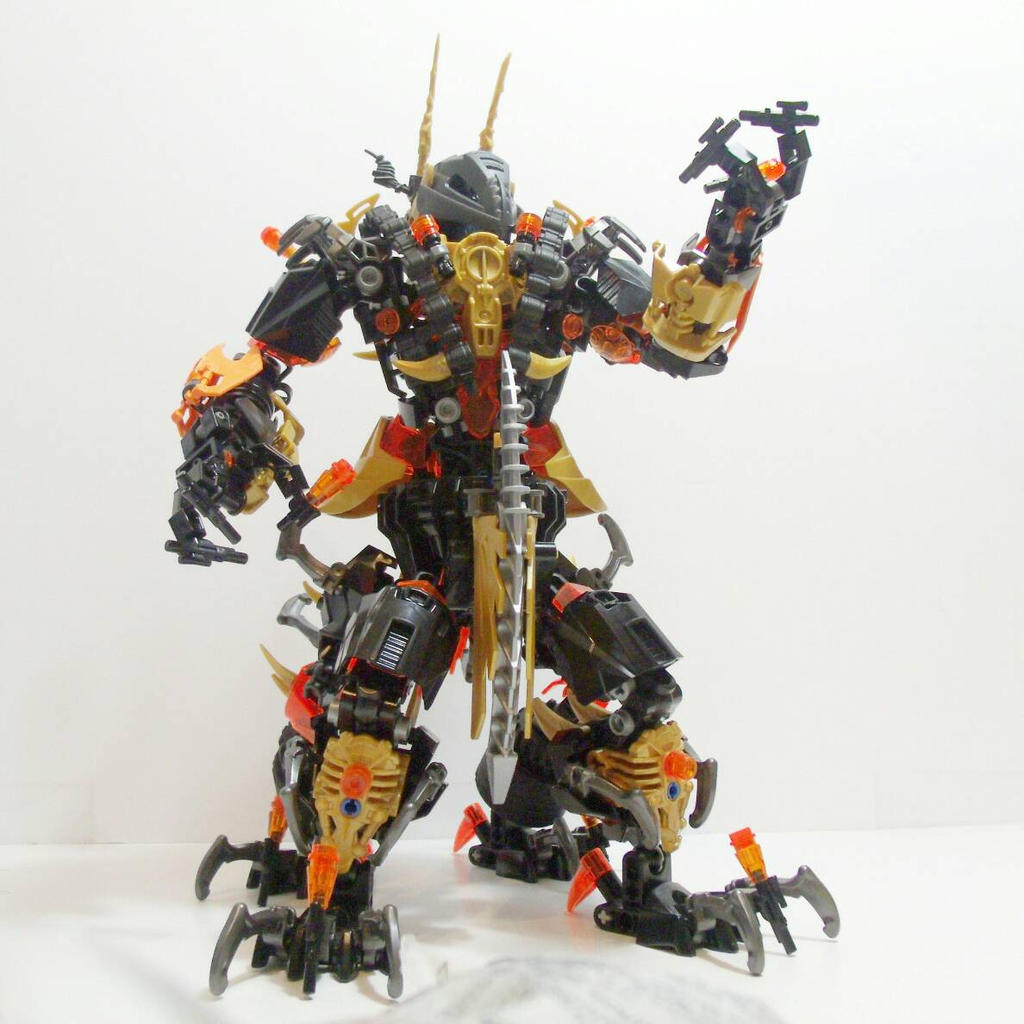 bionicle mocs how to build
