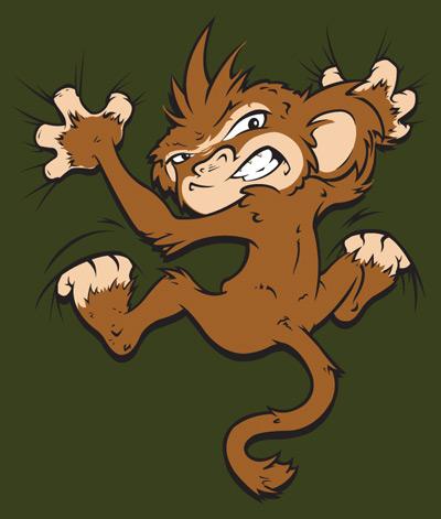 Monkey by duzty