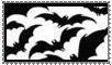 bats stamp by morbidpumpkin
