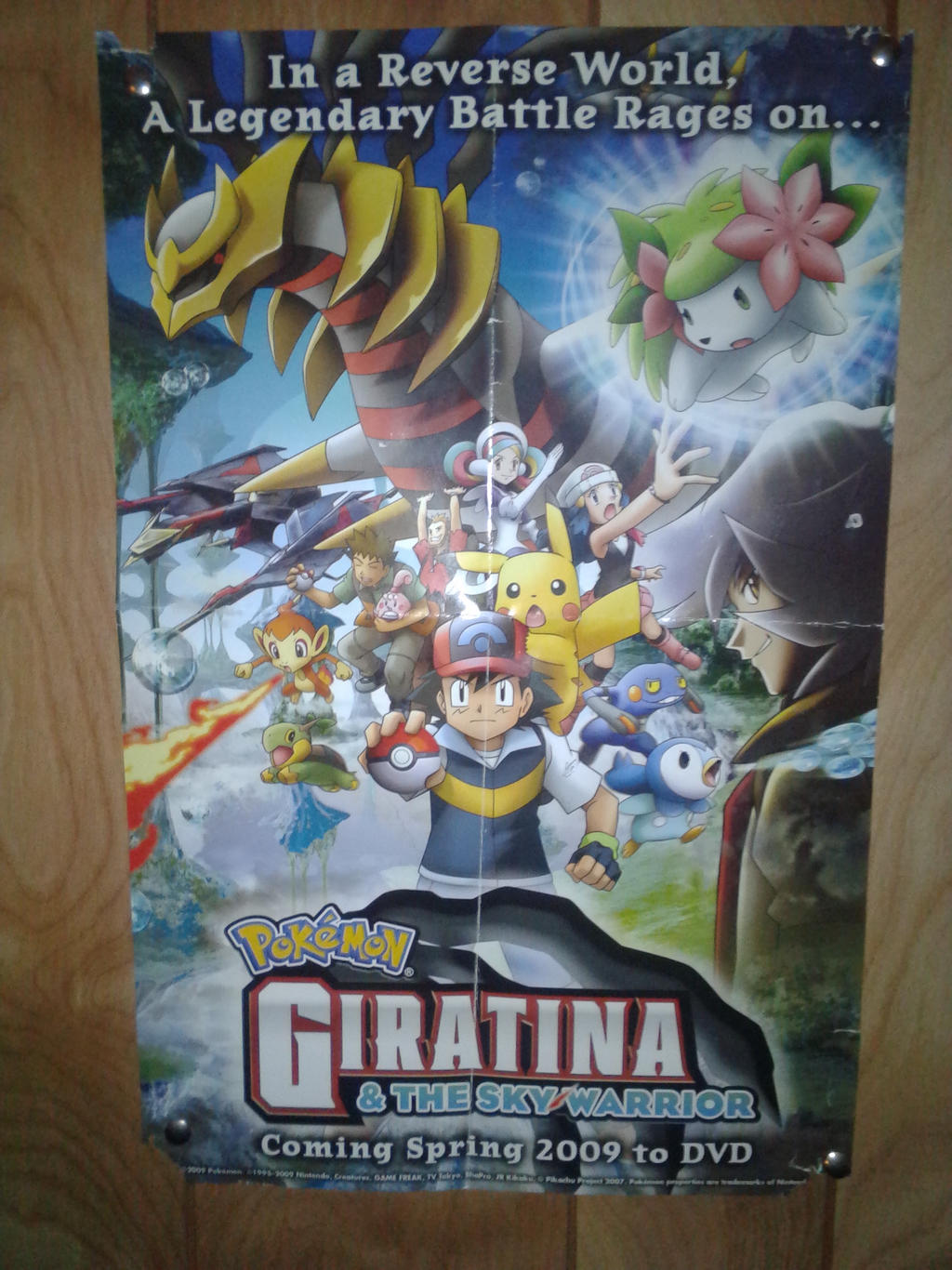 Pokemon Giratina And The Sky Warriors Poster By Dragonking3721 On